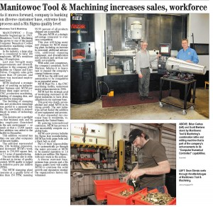 MTM - Manitowoc Tool & Machining News